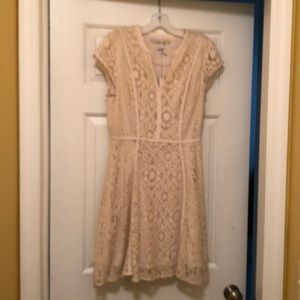 NWT - LC - Lauren Conrad - Lace Dress - Size 8